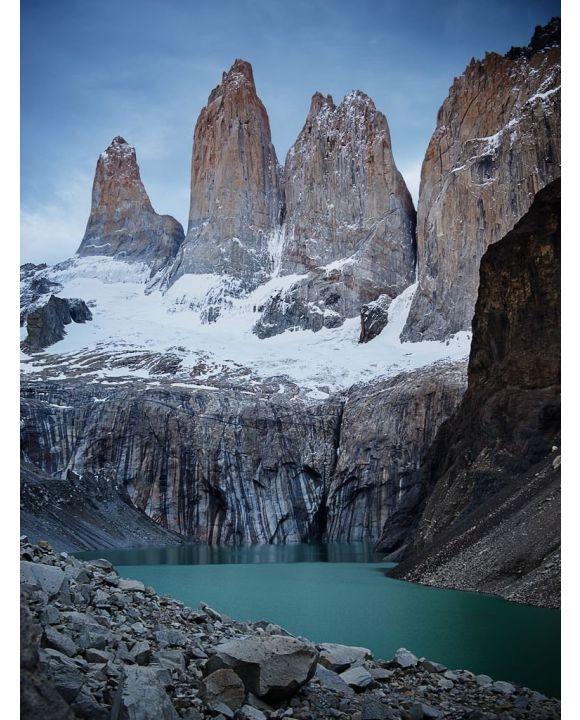 Lais Puzzle - Torres Del Paine Gipfel am Morgen im Torres Del Paine Nationalpark, Chile, Patagonien - 100, 200, 500, 1.000 & 2.000 Teile