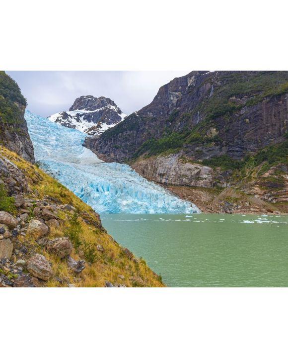 Lais Puzzle - Der bunte Serrano-Gletscher innerhalb des Bernardo O'Higgins-Nationalparks, Puerto Natales, Patagonien, Chile - 100, 200, 500, 1.000 & 2.000 Teile