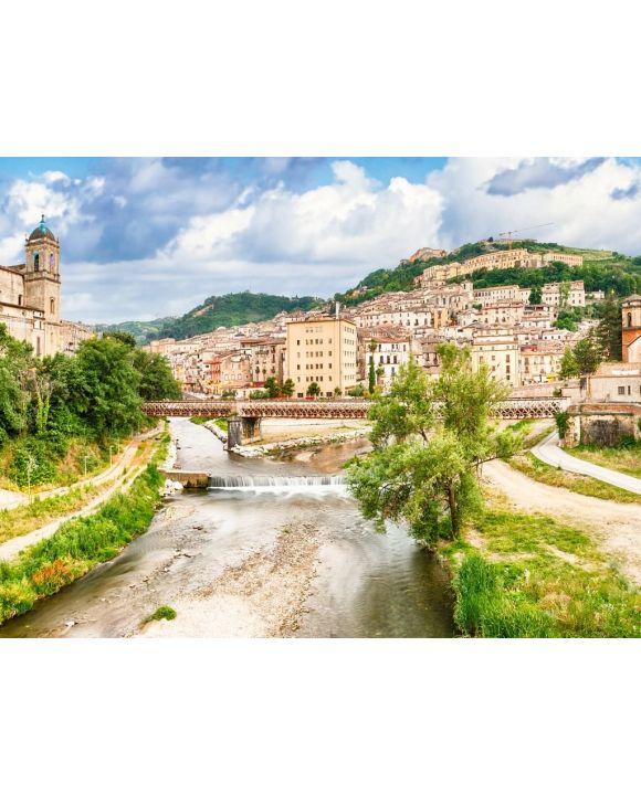 Lais Puzzle - Szenische Ansicht der Altstadt in Cosenza, Italien - 100, 200, 500, 1.000 & 2.000 Teile