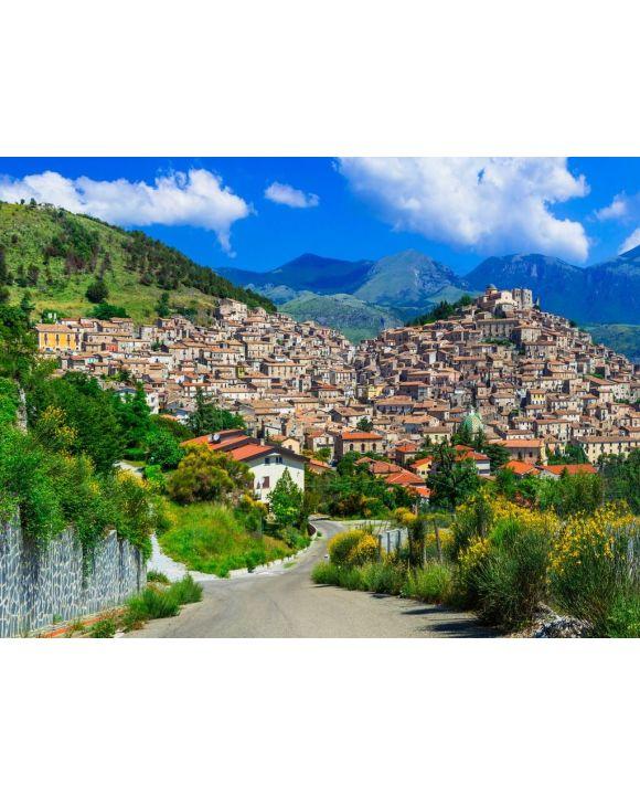 Lais Puzzle - Morano Calabro - eines der schönsten Dörfer Italiens. Kalabrien - 100, 200, 500, 1.000 & 2.000 Teile