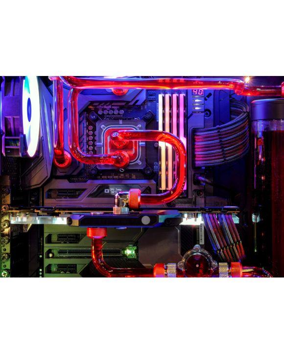 Lais Puzzle - Desktop Computer Gaming mit mehrfarbiger LED-Lichtshow beim Arbeiten - 100, 200, 500 & 1.000 Teile
