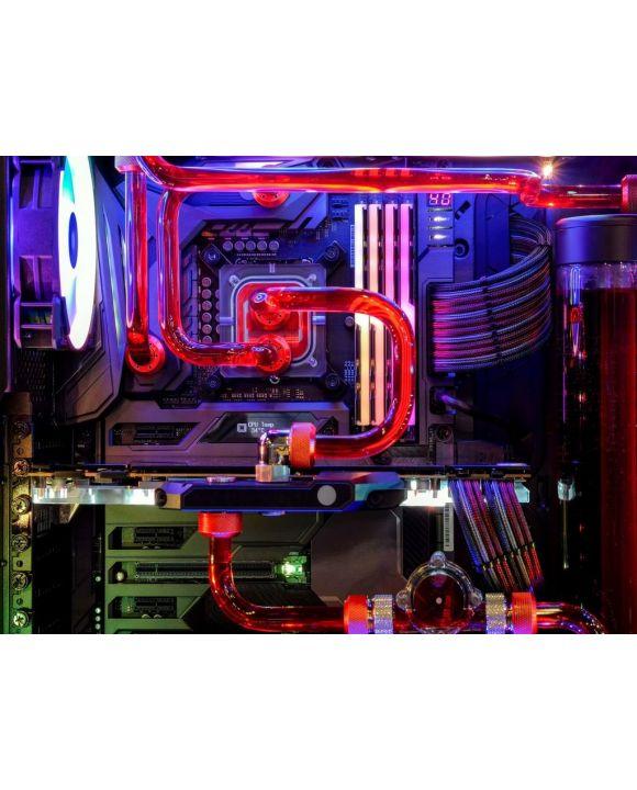 Lais Puzzle - Desktop Computer Gaming mit mehrfarbiger LED-Lichtshow beim Arbeiten - 500 & 1.000 Teile