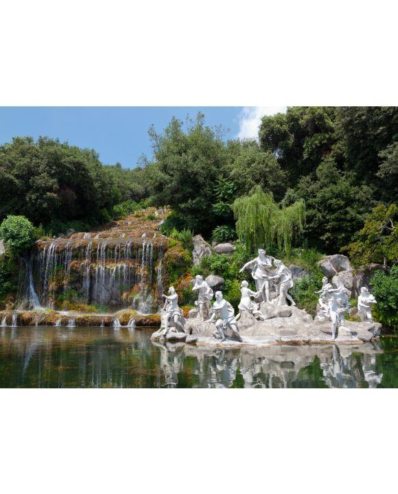 Lais Puzzle - Brunnen von Diana und Actaeon, Königspalast, Caserta, Italien - 100, 200, 500 & 1.000 Teile
