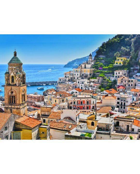 Lais Puzzle - Amalfi in der Provinz Salerno, Kampanien, Italien - 100, 200, 500, 1.000 & 2.000 Teile