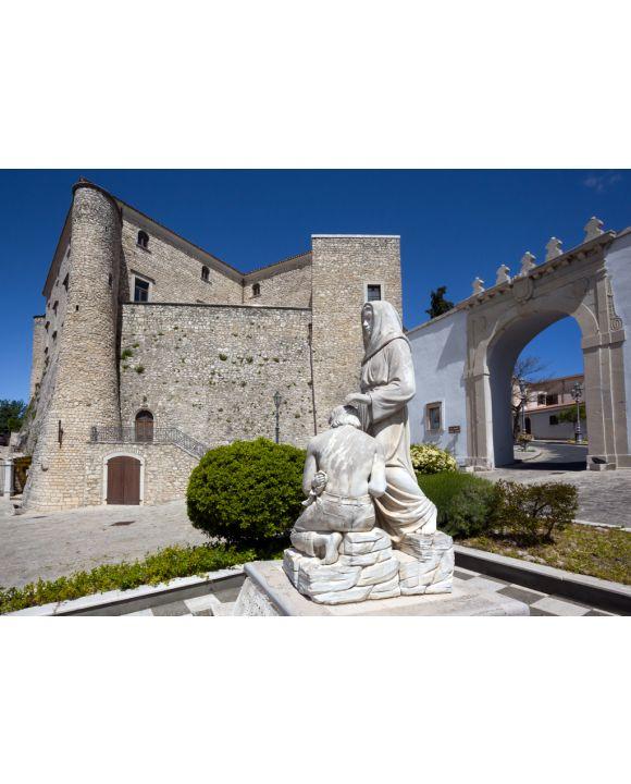 Lais Puzzle - Montemiletto (Avellino, Italien) - Schloss Leonessa - 100, 200, 500 & 1.000 Teile