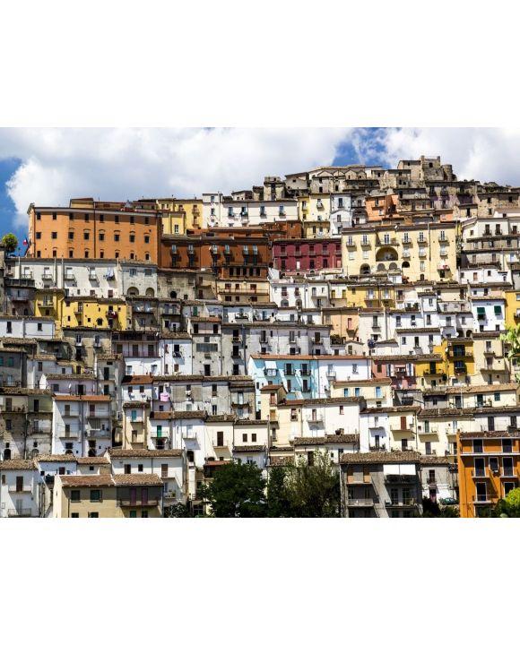 Lais Puzzle - Calitri (Avellino) Panorama von S.Lucia - 100, 200, 500, 1.000 & 2.000 Teile