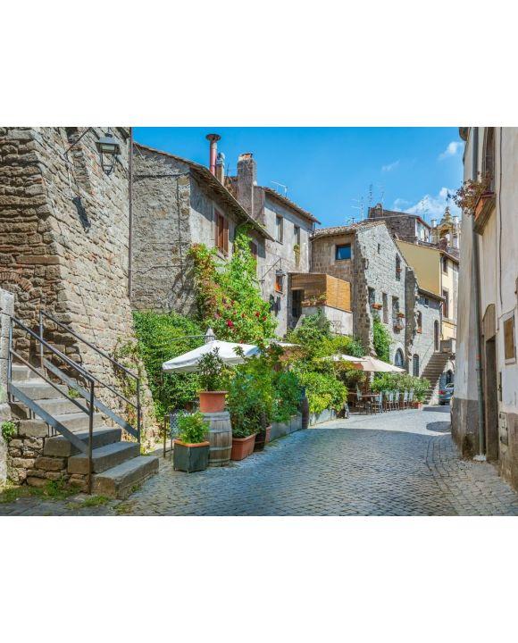 Lais Puzzle - Mittelalterlicher Bezirk San Pellegrino in Viterbo, Latium (Italien). - 100, 200, 500, 1.000 & 2.000 Teile
