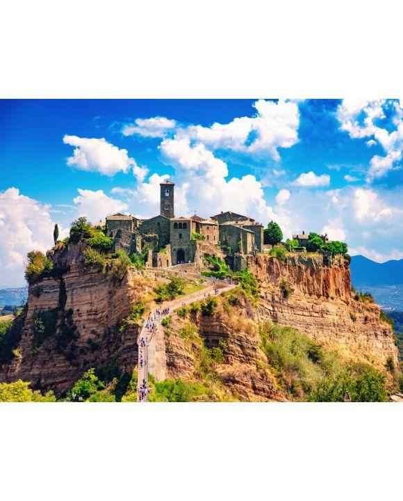 Lais Puzzle - Civita di Bagnoregio, Viterbo, Latium, Italien, Ansicht der mittelalterlichen Stadt - 100, 200, 500, 1.000 & 2.000 Teile