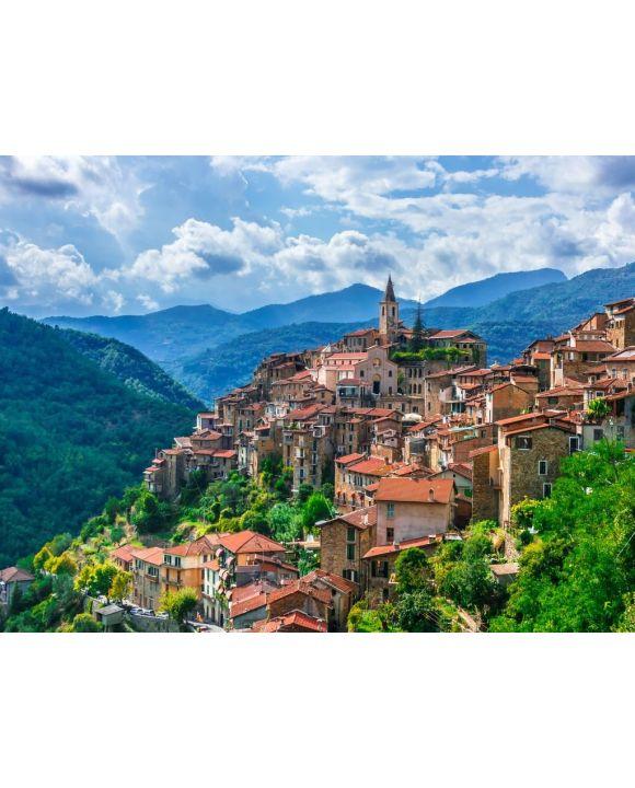 Lais Puzzle - Ansicht von Apricale in der Provinz von Imperia, Ligurien, Italien - 100, 200, 500, 1.000 & 2.000 Teile