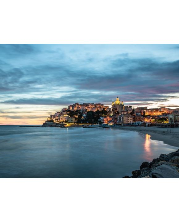 Lais Puzzle - Porto Maurizio, Imperia, Sonnenuntergang - 100, 200, 500, 1.000 & 2.000 Teile