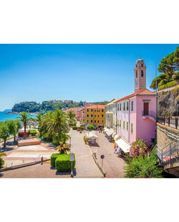 Lais Puzzle - Schöne Straße und traditionelle Gebäude von Savona, Ligurien, Italien - 100, 200, 500, 1.000 & 2.000 Teile