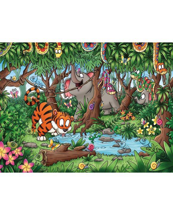 Lais Puzzle - Versteckte Chamäleons im Dschungel - Wimmelbild - 500 & 1.000 Teile