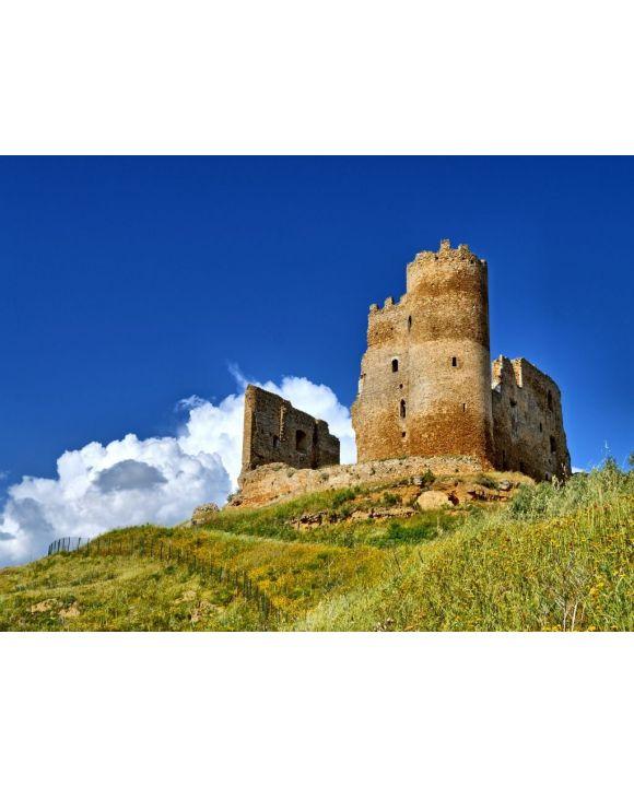 Lais Puzzle - Ansicht der mittelalterlichen Burg von Mazzarino, Caltanissetta, Sizilien, Italien, Europa - 500 & 1.000 Teile