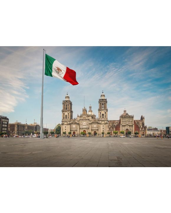 Lais Puzzle - Zocalo-Platz und Kathedrale von Mexiko-Stadt - Mexiko-Stadt, Mexiko - 500 & 1.000 Teile