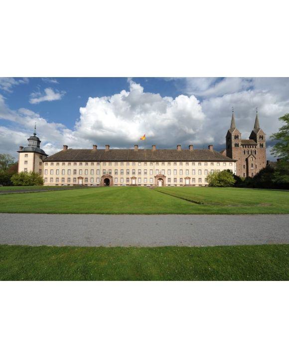 Lais Puzzle - Schloss Corvey, Kloster, Westwerk, Weltkulturerbe, Unesco, - 500 & 1.000 Teile