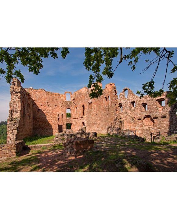 Lais Puzzle - Ruine der Burg Hohenecken in Kaiserslautern, Rheinland-Pfalz, Deutschland - 500 & 1.000 Teile