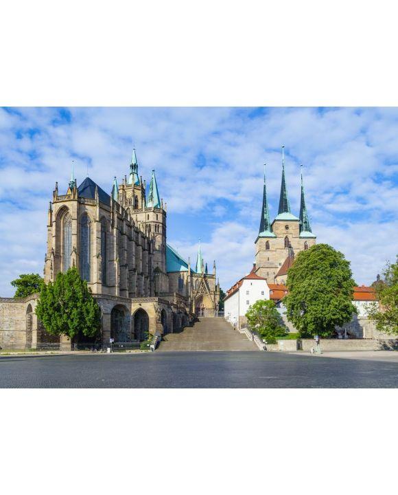 Lais Puzzle - Dom von Erfurt Deutschland - 500 & 1.000 Teile