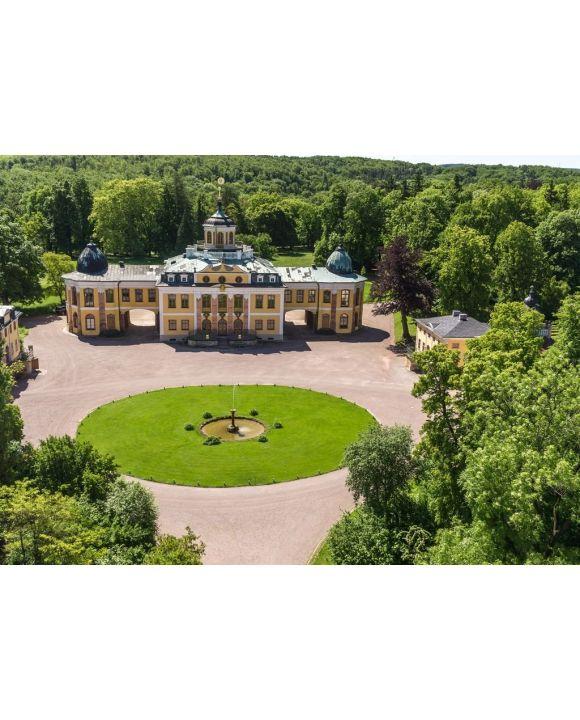 Lais Puzzle - Schloss Belvedere Weimar Vorderansicht Weltkulturerbe - 500 & 1.000 Teile
