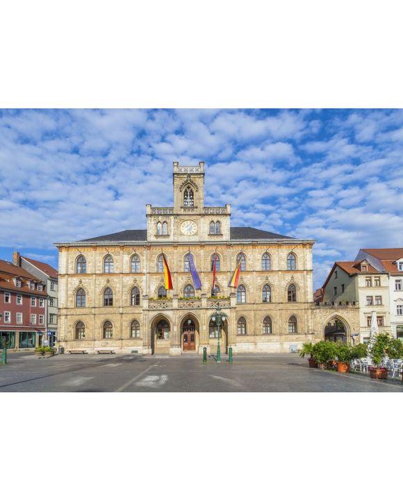 Lais Puzzle - Rathaus Weimar in Deutschland, UNESCO-Weltkulturerbe - 500 & 1.000 Teile