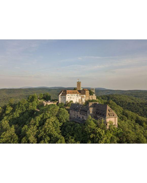 Lais Puzzle - Luftaufnahme der Wartburg in der Nähe der Stadt Eisenach - 500 & 1.000 Teile