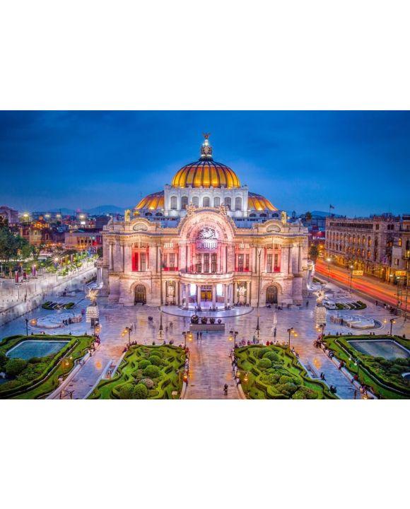 Lais Puzzle - Mexiko-Stadt - Der Palast der Schönen Künste alias Palacio de Bellas Artes - 500 & 1.000 Teile