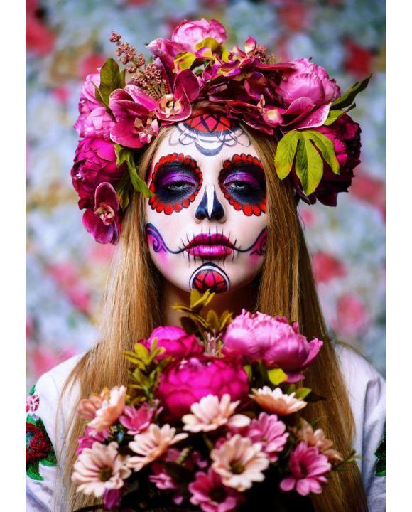 Lais Puzzle - traditionelle Totenkostüme / Dio de los Muertes, Mexiko - 500 & 1.000 Teile