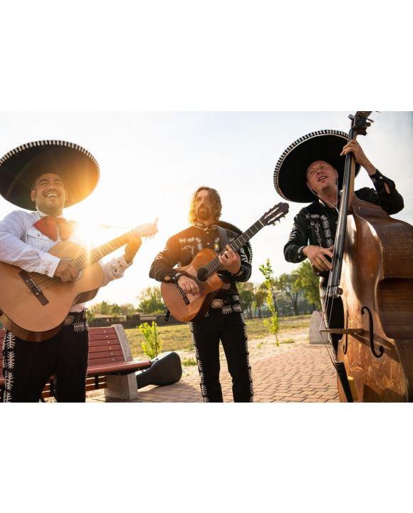 Lais Puzzle - Straßenkonzert der Mariachi-Band mexikanischer Musiker - 500 & 1.000 Teile