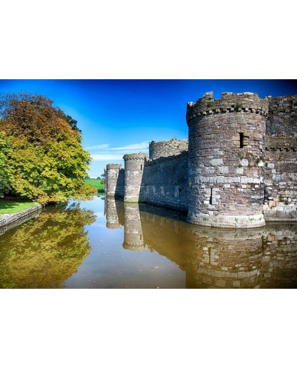 Lais Puzzle - Beaumaris Castle Anglesey Wales - 500 & 1.000 Teile