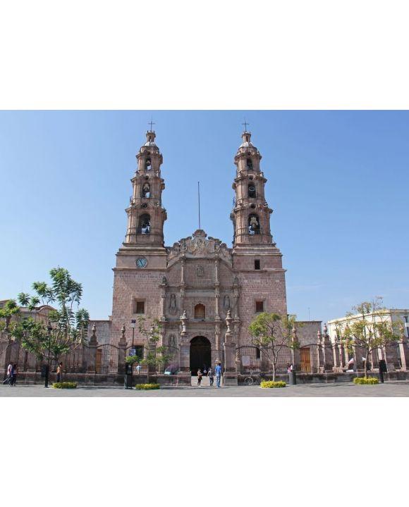 Lais Puzzle - Kathedrale Basilika Unserer Lieben Frau von Mariä Himmelfahrt in Aguascalientes Mexiko - 500 & 1.000 Teile