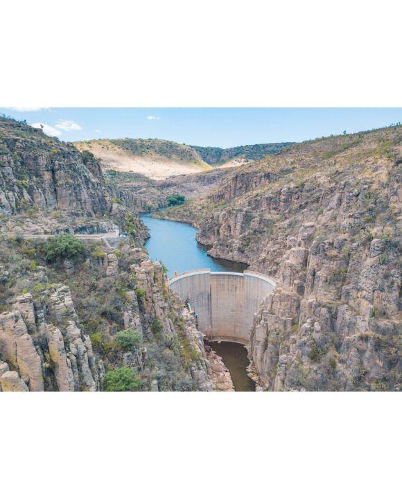 Lais Puzzle - Erstaunlicher Staudamm an der Boca de Tunel-Schlucht in Aguascalientes, Mexiko - 500 & 1.000 Teile