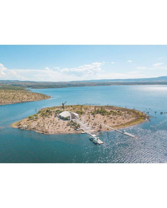 Lais Puzzle - Insel des gebrochenen Christus in San Jose de Gracia in Aguascalientes, Mexiko - 500 & 1.000 Teile