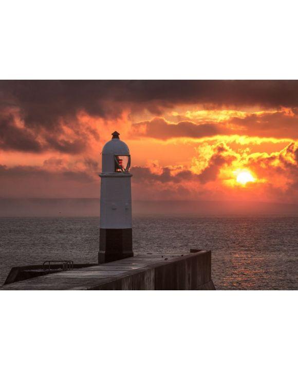 Lais Puzzle - Porthcawl-Leuchtturm bei Sonnenaufgang - 500 & 1.000 Teile