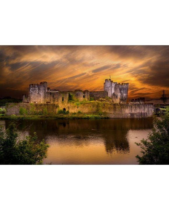 Lais Puzzle - Caerphilly Castle, Wales - 500 & 1.000 Teile