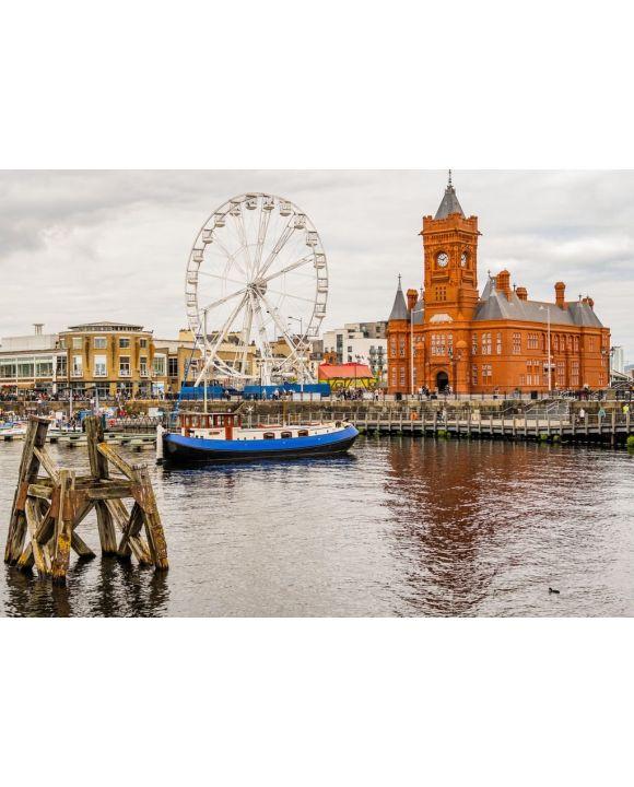 Lais Puzzle - Wales UK, Cardiff Docks, wiederaufgebaute Tiger Bay - 500 & 1.000 Teile