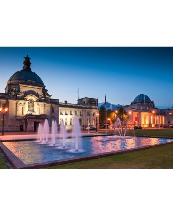 Lais Puzzle - Rathaus Cardiff, Wales - 500 & 1.000 Teile