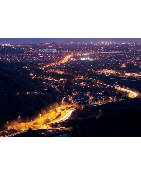 Lais Puzzle - Cardiff bei Nacht - 500 & 1.000 Teile