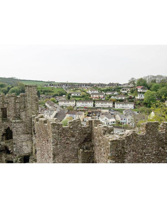 Lais Puzzle - Stadt und Schloss Laugharne, Carmarthenshire, Wales - 500 & 1.000 Teile