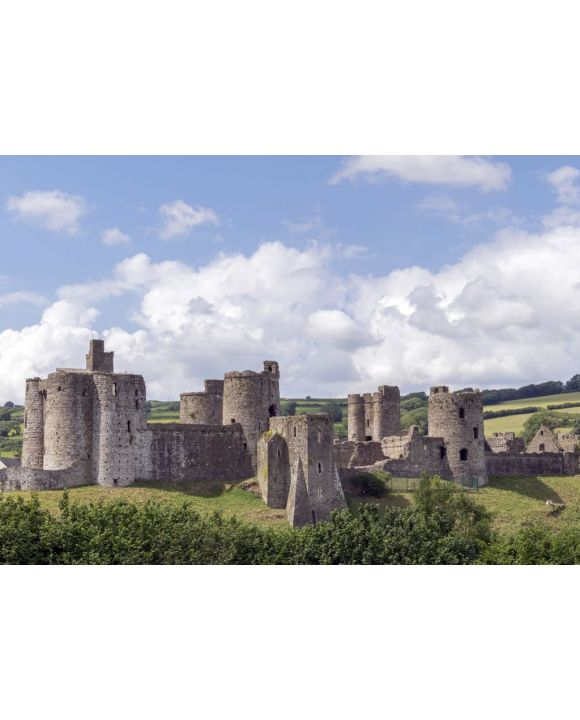Lais Puzzle - Schloss Kidwelly / Castell Cydweli, Carmarthenshire, Wales - 500 & 1.000 Teile