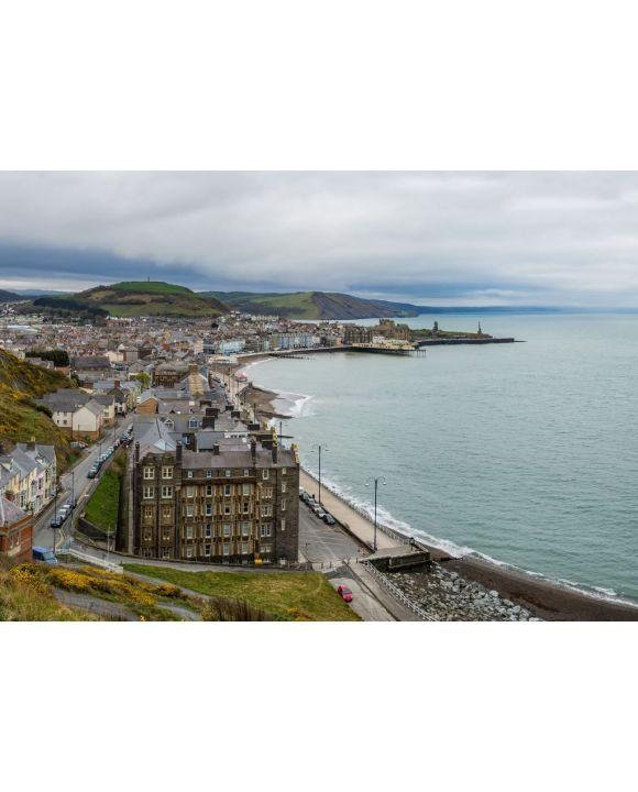 Lais Puzzle - Panoramablick über die Universitätsstadt Aberystwyth in Wales - 500 & 1.000 Teile