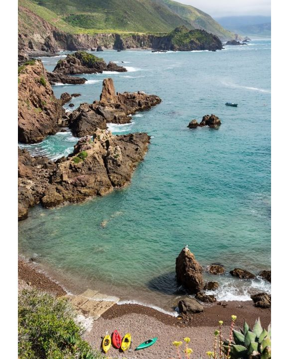 Lais Puzzle - Mexikanische Pazifikklippen, Puerto Kennedy, Ensenada, Mexiko - 500 & 1.000 Teile