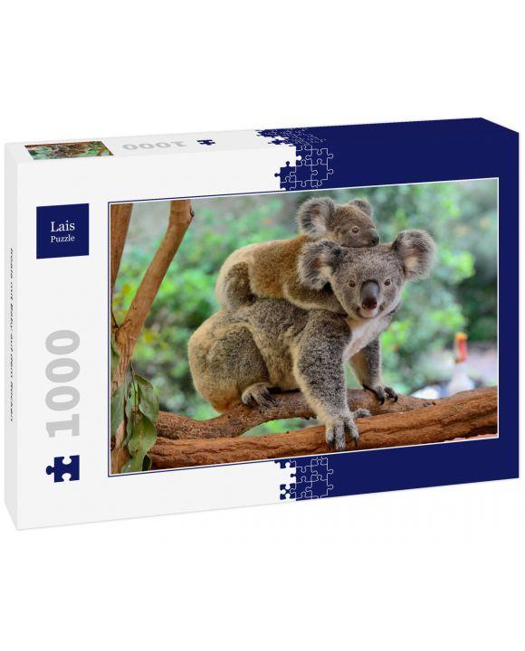 Lais Puzzle - Koala mit Baby auf dem Rücken - 1.000 Teile