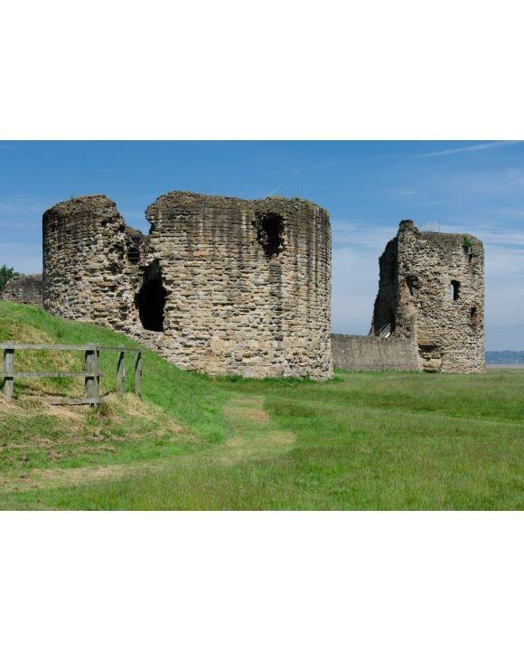Lais Puzzle - Die Ruinen von Flint Castle, Flintshire, Wales - 500 & 1.000 Teile
