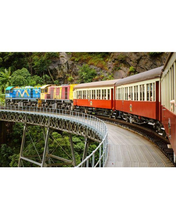 Lais Puzzle - Kuranda Scenic Train, Queensland, Australien - 500 & 1.000 Teile
