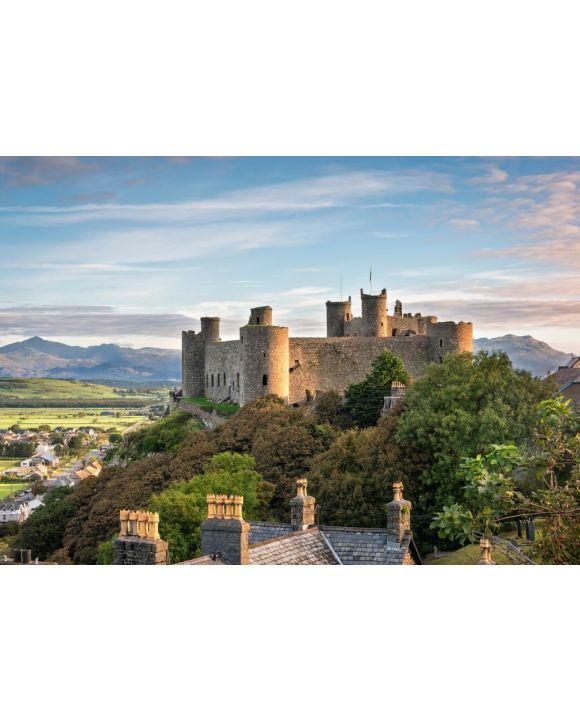 Lais Puzzle - Harlech Castle bei Sonnenaufgang, Wales - 500 & 1.000 Teile