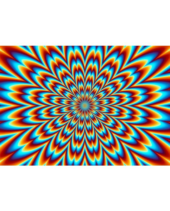 Lais Puzzle - Unmögliche, sehr schwierige, psychedelische Farben - 500 & 1.000 Teile