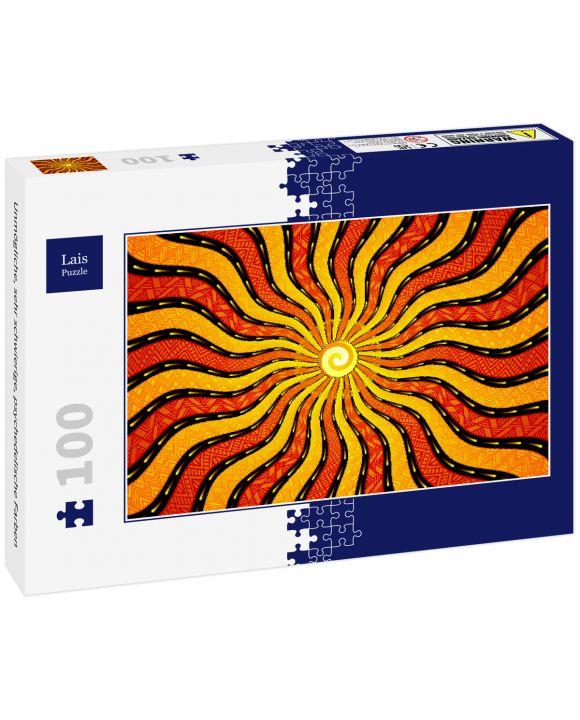 Lais Puzzle - Unmögliche, sehr schwierige, psychedelische Farben - 100 Teile