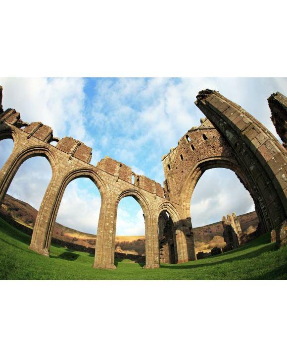 Lais Puzzle - Ruinen des Priorats Llanthony, Monmouthshire, Wales - 500 & 1.000 Teile