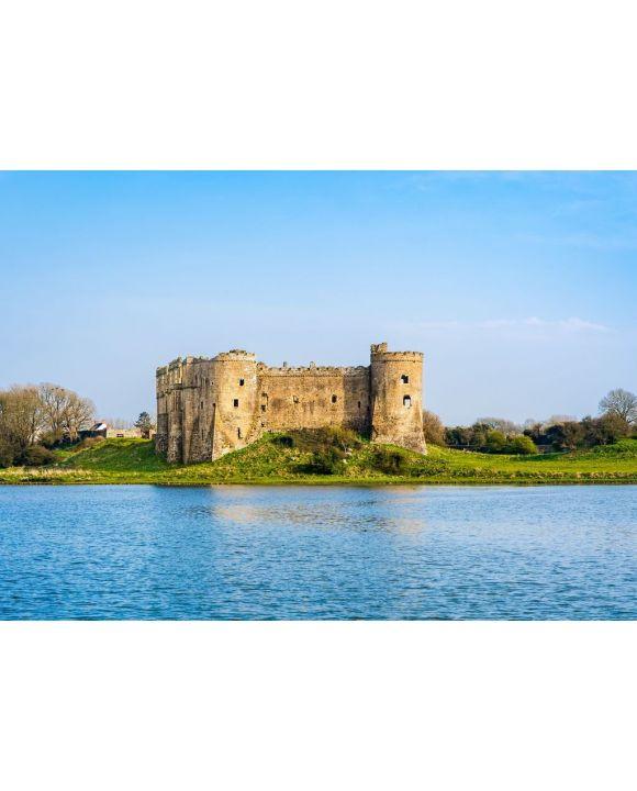 Lais Puzzle - Ruinen von Carew Castle, Pembrokeshire, Wales - 500 & 1.000 Teile