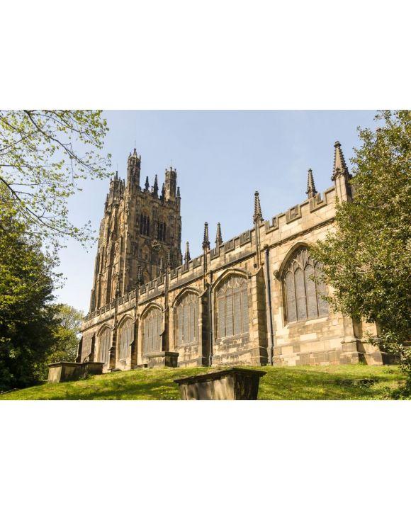 Lais Puzzle - Die Kirche Saint Giles in Wrexham wurde 1506 erbaut und ist die größte mittelalterliche Pfarrkirche in Wales - 500 & 1.000 Teile