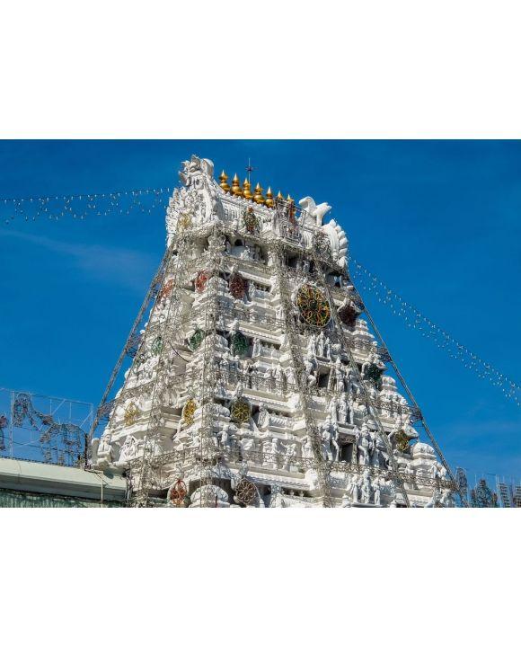 Lais Puzzle - Balaji-Tempel auf dem Tirumala-Hügel. Der meistbesuchte Ort der Hindu-Pilgerschaft. Sri Venkateswara Swamy Vaari-Tempel, Tirumala, Tirupati, Indien - 500 & 1.000 Teile